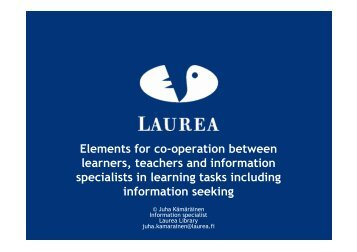 Presentation (pdf) - LbD Conference