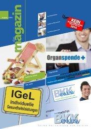 www .bkkexklusiv .de - bei der BKK exklusiv