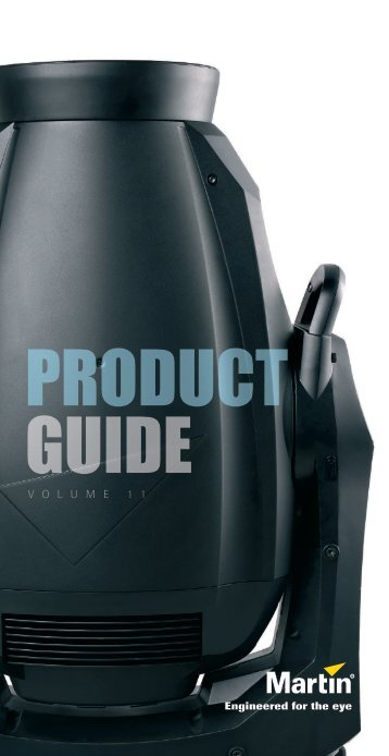 PRODUCT GUIDE - Martin
