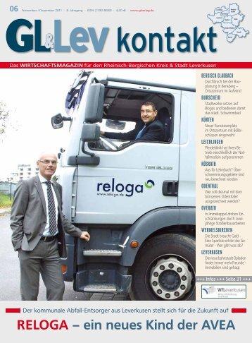 RELOGA – ein neues Kind der AVEA -  GL VERLAGS GmbH