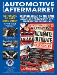 am magazine shell - Australian Automotive Aftermarket Association