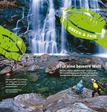 Broschüre GREEN & FAIR [1.1mb] - diffrent design gmbh