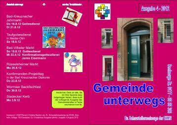 Gemeinde unterwegs 4-2012