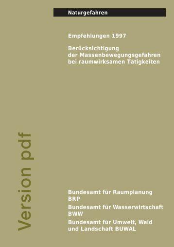 Empfehlungen - bebende Schweiz