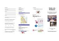 Mehr als Wohnen - Wohnprojekte Portal