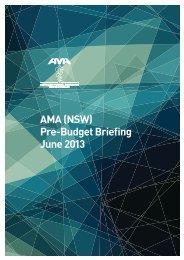 download it here (PDF) - Australian Medical Association NSW