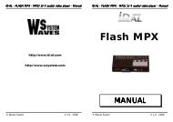 Flash MPX Manual GB - Visono Media AB