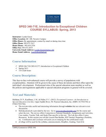assessment of exceptional children Maura clark-ingle, director monica ayon, ombudsperson 1010 e 10th st tucson, az 85719 (520) 225-6610 email us.