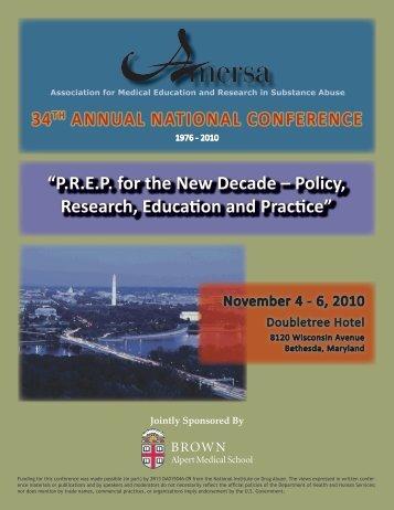 2010 Registration Brochure - AMERSA