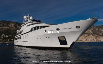 M/Y Sealyon - Paradise Yacht Charters