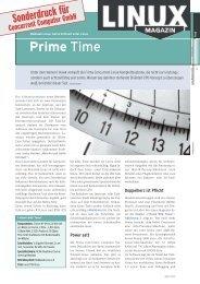 Prime Time - Concurrent Computer GmbH