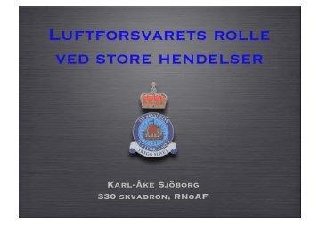 Luftforsvarets rolle Sjöborg - nakos