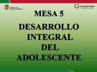 5. Programa de Atención Integral al Adolescente