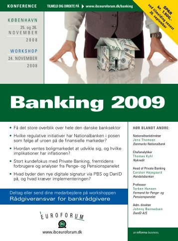 Banking 2009 - IBC Euroforum