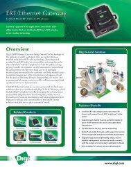 ERT/Ethernet Gateway from Digi International - Datasheet