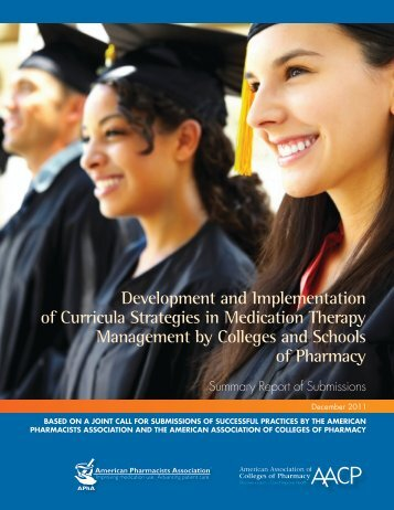 Development and Implementation of Curricula Strategies in ... - AACP