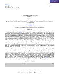 16 UCDJJLP 203 Page 1 16 UC Davis J. Juv. L. & Pol'y 203 © 2012 ...