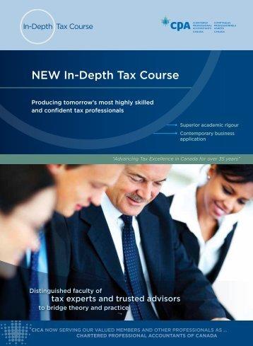 Download Brochure - CICA Conferences & Courses - Canadian ...