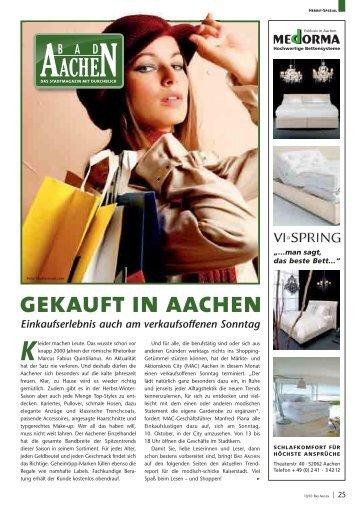 Gekauft In Aachen - Bad Aachen