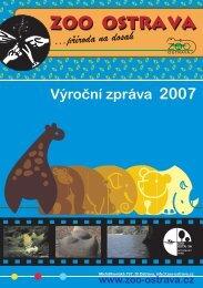 výroční zpráva 2007 - Zoo Ostrava
