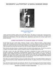 pdf/SINGH, SADHU SUNDAR/BIOGRAPHY AND PORTRAIT OF ...