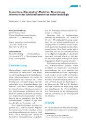 Report Versorgungsforschung Band 4