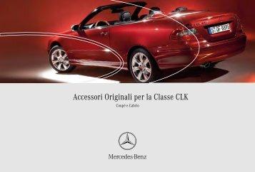 Accessori Originali per la Classe CLK - Star Service 2000 srl