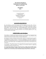 Resident Handbook 5th Edition 2011 Draft 110921 - Kim Formatting