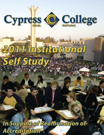 2011 Institutional Self Study - Cypress College