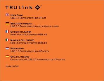 USB 3.0 S USB 3.0 S USB 3.0 S - C2G