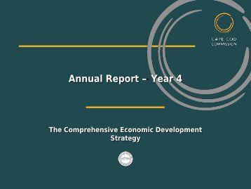 (CEDS) - 2013 Annual Report - Cape Cod Commission
