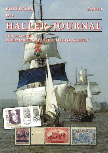 HALLER -JOURNAL - Briefmarken HALLER