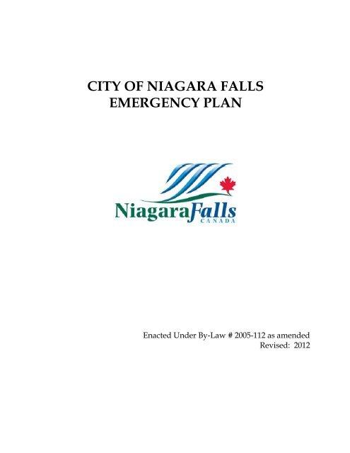 city of niagara falls emergency plan - Niagara Falls, Ontario, Canada