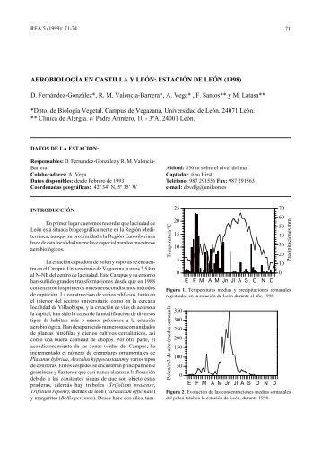 Aerobiología en Castilla y León - LAP