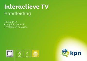 Interactieve TV - Handleidingen en software