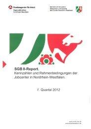 SGB II-Report. - Ministerium für Arbeit, Integration und Soziales des ...