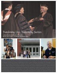 2012 Self-Study Report - Three Rivers Community College