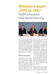 "Mittelstand gegen ""IFRS für KMU"" - PerspektivePraxis.de"