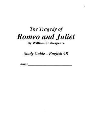 romeo and juliet act 3 study guide and answers Short answer study guide questions - romeo and juliet act i 1) why do sampson and gregory fight with montague's men 2) benvolio and tybalt come upon the servants fighting.