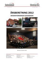 ÅRSBERETNING 2012 - Glostrup Bio