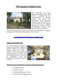 PfP Language Training Centre - Slovenska vojska