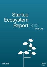 Startup Ecosystem Report 2012 Part I vers 1_1