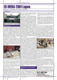 ED-MEDIA-2004 Lugano - PCNews