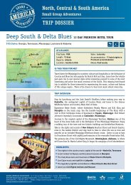 Deep South & Delta Blues Premium - Adventure holidays