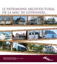 Chroniques de caractérisation du patrimoine bâti - MRC Lotbinière