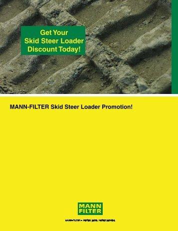 Get Your Skid Steer Loader Discount Today!