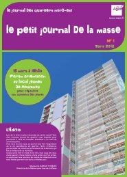 Mars 2012 le journal des quartiers nord-est L'ÉDiTO ... - Ville d'Agen