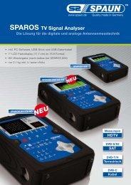 Technische Daten des SPAROS 609 CA HD - Spaun