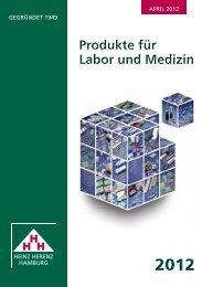 Katalog 2012 - Heinz Herenz Medizinalbedarf GmbH