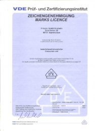 Vde-Zertifikat: UPV 12 24 36 HWV12 24 36 (Nr. 113618) - F-tronic